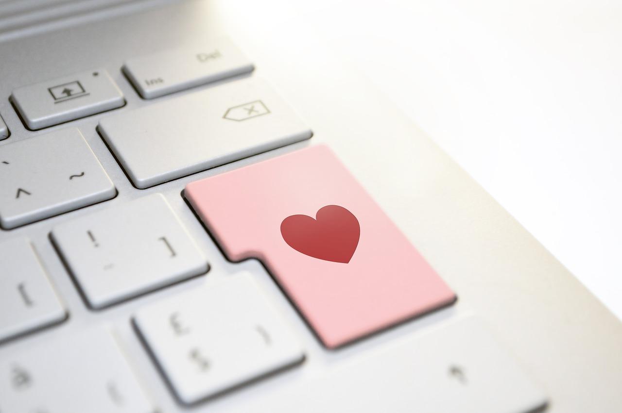 heart, love, keyboard